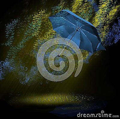 Radioactive rain