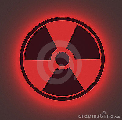 Free Radioactive Sign Red Stock Images - 588504