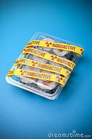 Radioactive Sushi Food