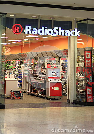 RadioShack Store Editorial Photography