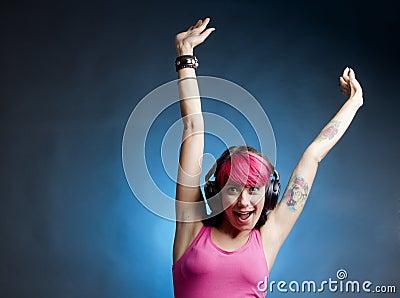 Radość muzyka
