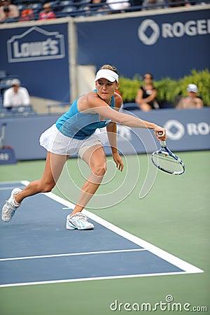 Radwanska Agnieszka at Rogers Cup 2009 (60) Editorial Image