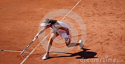 Radwanska wins 2012 WTA Brussels Open Editorial Stock Image