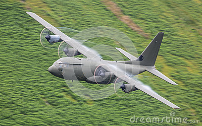 RAF C130 Hercules aircraft