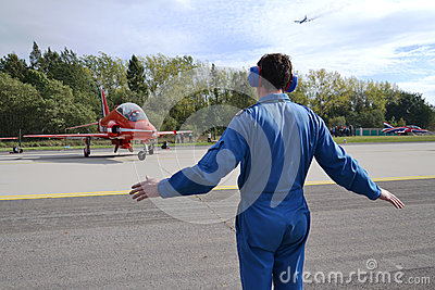 RAF - Red Arrows Editorial Photo