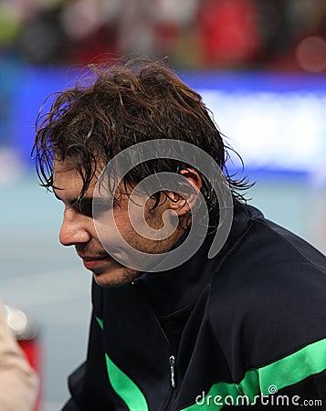 Rafael Nadal (ESP), professional tennis player Editorial Image
