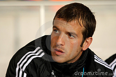 Rafael van der Vaart of Real Madrid Editorial Photo