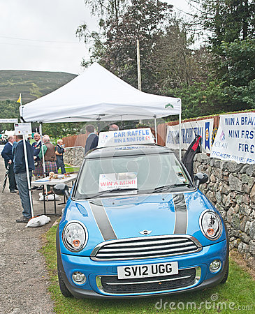 Raffle to win a car at Braemar Gathering Editorial Image