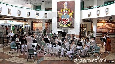 Raffles Institution RI open House Editorial Image