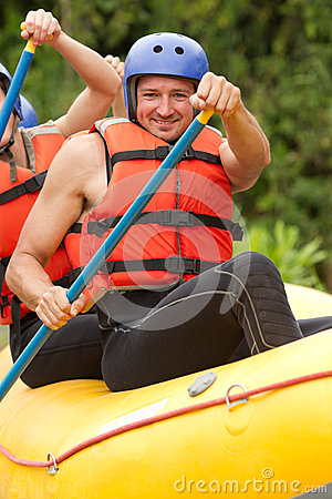 Rafting training