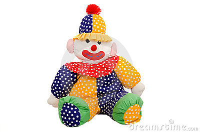 Rag doll clown