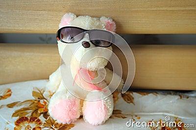 Rag toy bear
