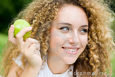 Ragazza con Apple