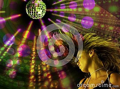 Ragazza della discoteca