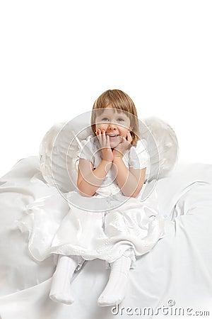 Ragazza di angelo