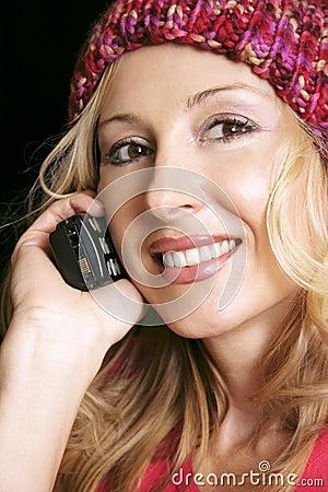 Ragazza sul telefono