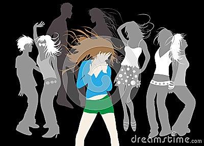 Ragazze di dancing