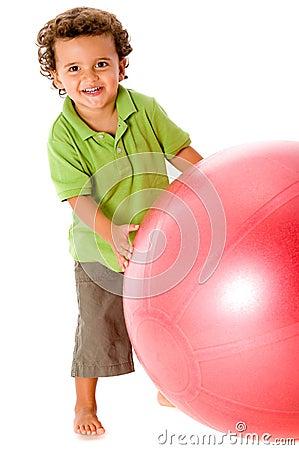 Ragazzo con la sfera