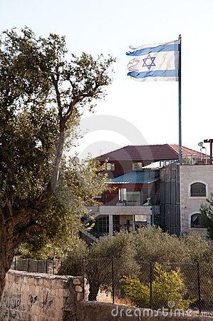 Ragged Israeli Flag