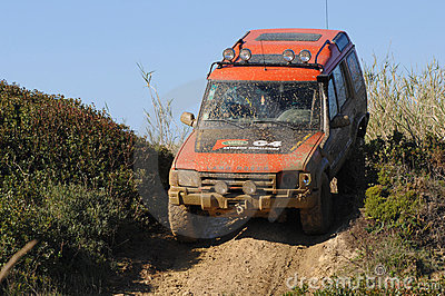 Raid 4X4 adventure race Editorial Image