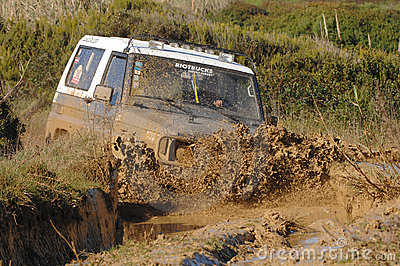 Raid 4X4 adventure race Editorial Photo