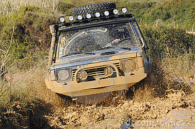 Raid 4X4 adventure race Editorial Stock Image