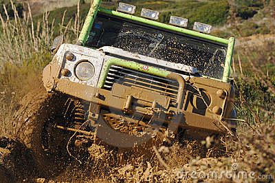 Raid 4X4 adventure race Editorial Photography
