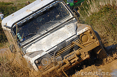 Raid 4X4 adventure race Editorial Stock Photo