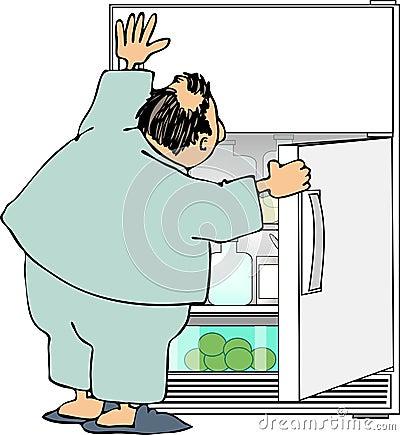 Raid the refrigerator
