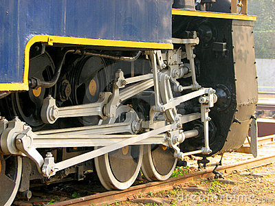 Rail  Engine Wheels