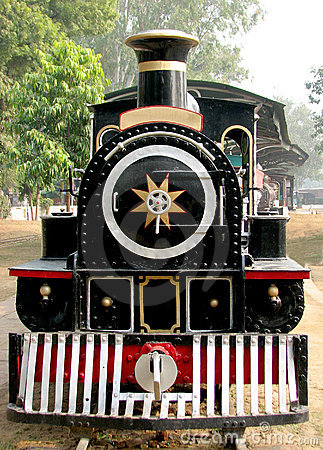 Rail Steam Engine