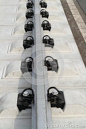 Free Rail Track Royalty Free Stock Photo - 18762895