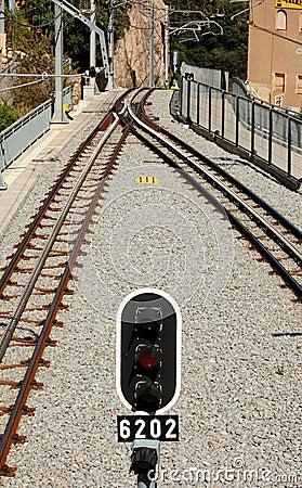 Free Rail Track Royalty Free Stock Image - 4272096