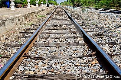 Rail way at Sakreo station