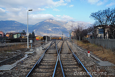 Rail Yard near Brescia, Italy
