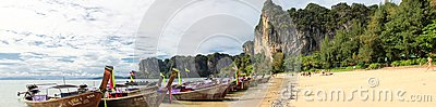 Railay Beach in Thailand Editorial Photography