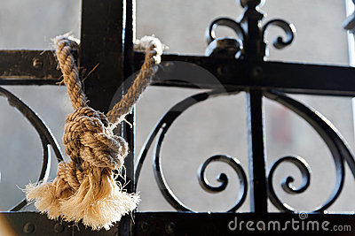 Railing with Rope