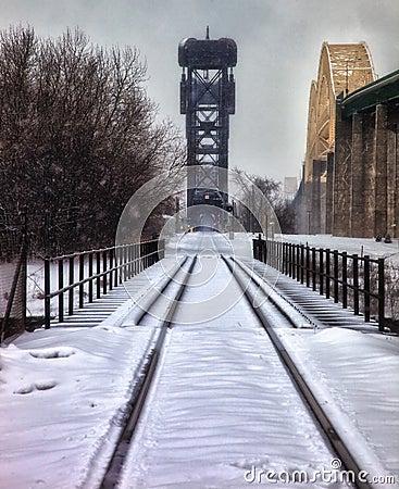 Railroad Bridge/International Bridge