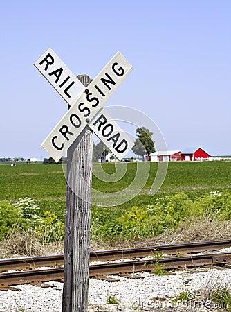Railroad Crossing Sign III
