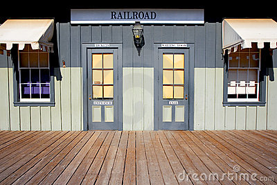 Railroad Depot and Ticket Station