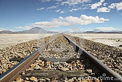 Railroad in the Desert