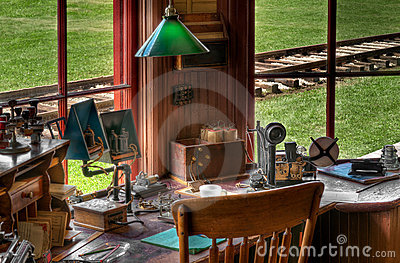 Railroad Station Radio/Telegraph Station