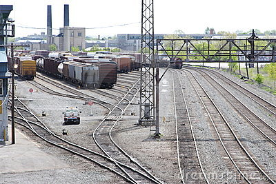 Railroad Stock Yard