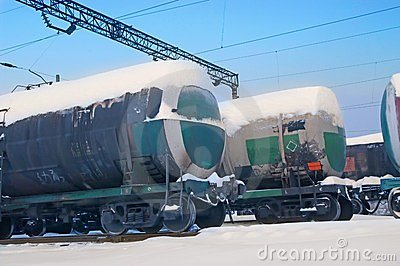 Railroad tank