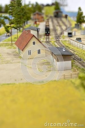 Railroad - toy
