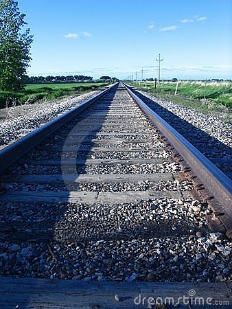 Free Railroad Track Stock Photography - 819712