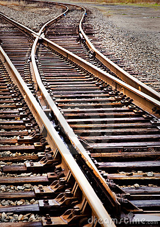 Free Railroad Track Switch Stock Photos - 21656113
