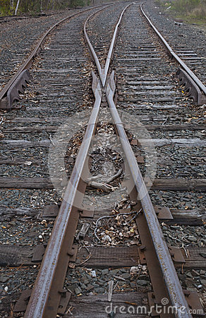 Railroad Track Switch