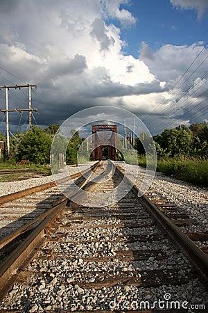Free Railroad Tracks Stock Image - 10627911