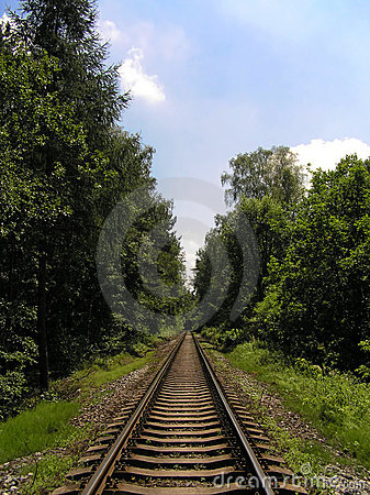Free Railroad Tracks Stock Photography - 9184112
